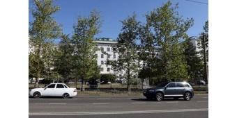 Больница №6 Симферополя - вид со стороны улицы Гагарина.