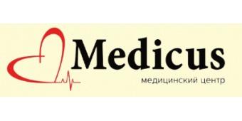 Логотип центра Медикус